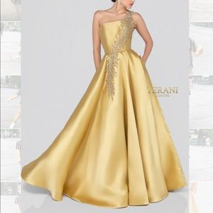 🍁 AMAZING DEAL! Terani Couture Gown